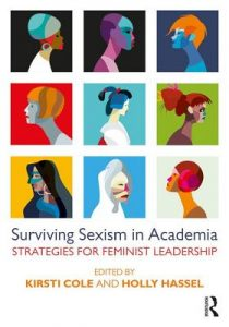"""Surviving Sexism in Academia"" book cover"