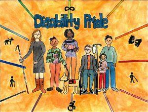 Disability Pride art