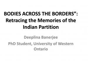 Image of First Slide of Presentation