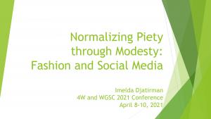 Image of First Presentation Slide